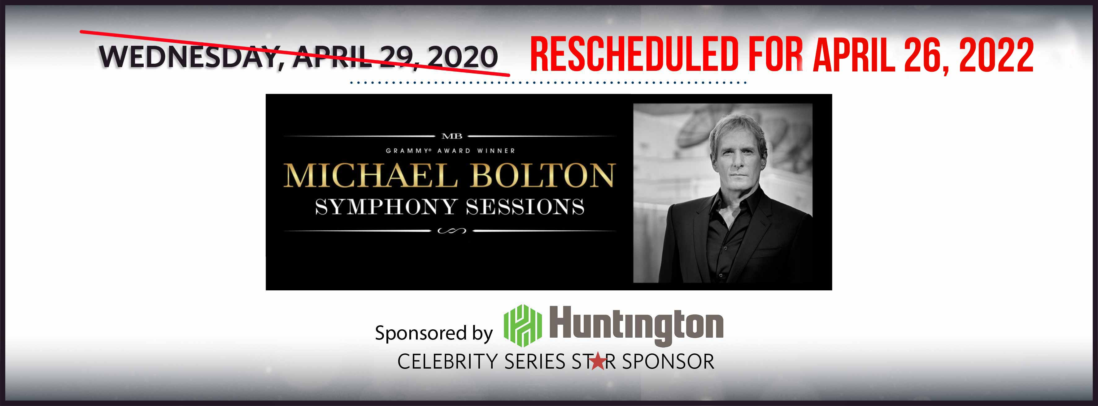 Michael Bolton: Wednesday, April 29, 2020