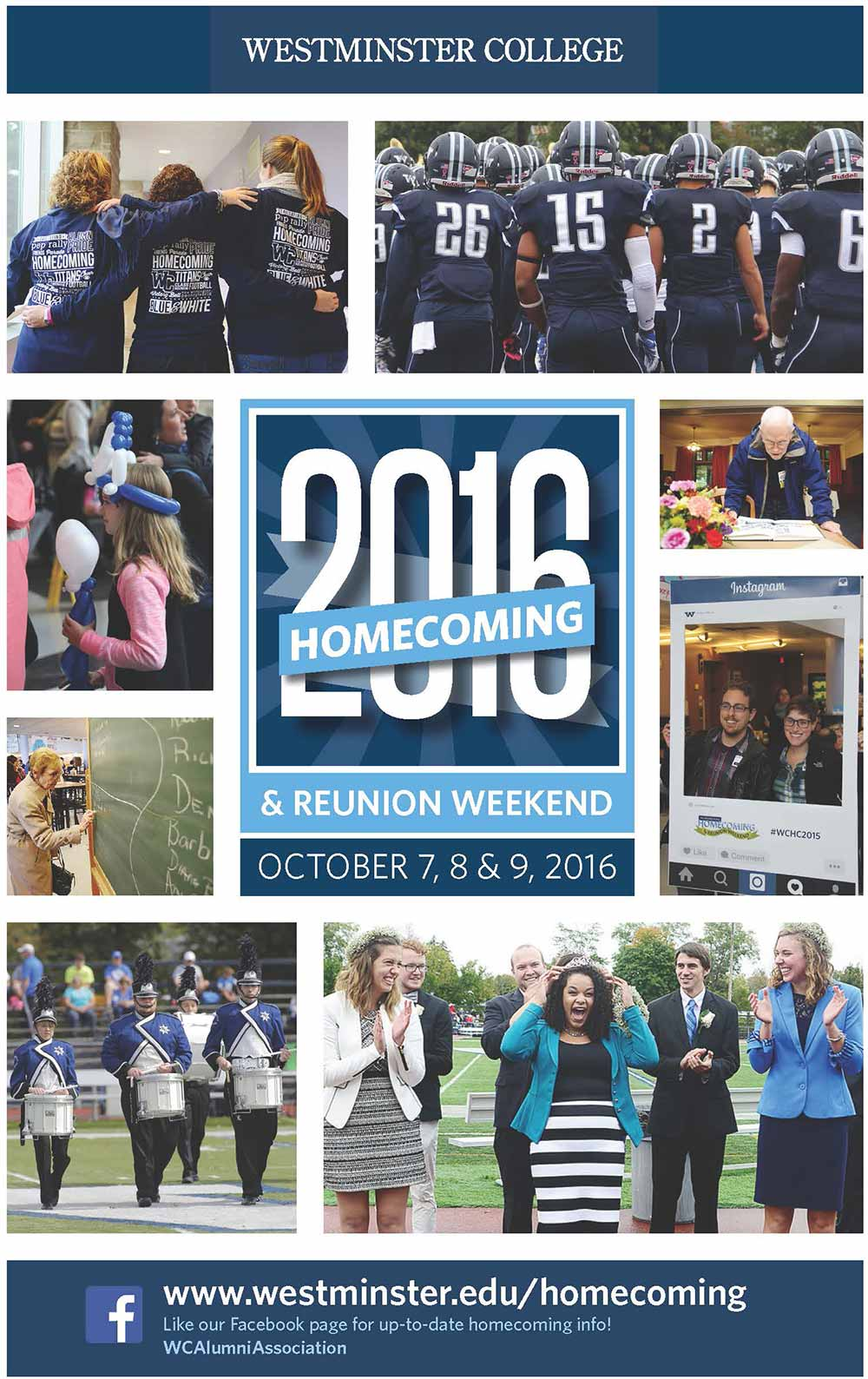 Homecoming & Reunion Weekend 2016 brochure