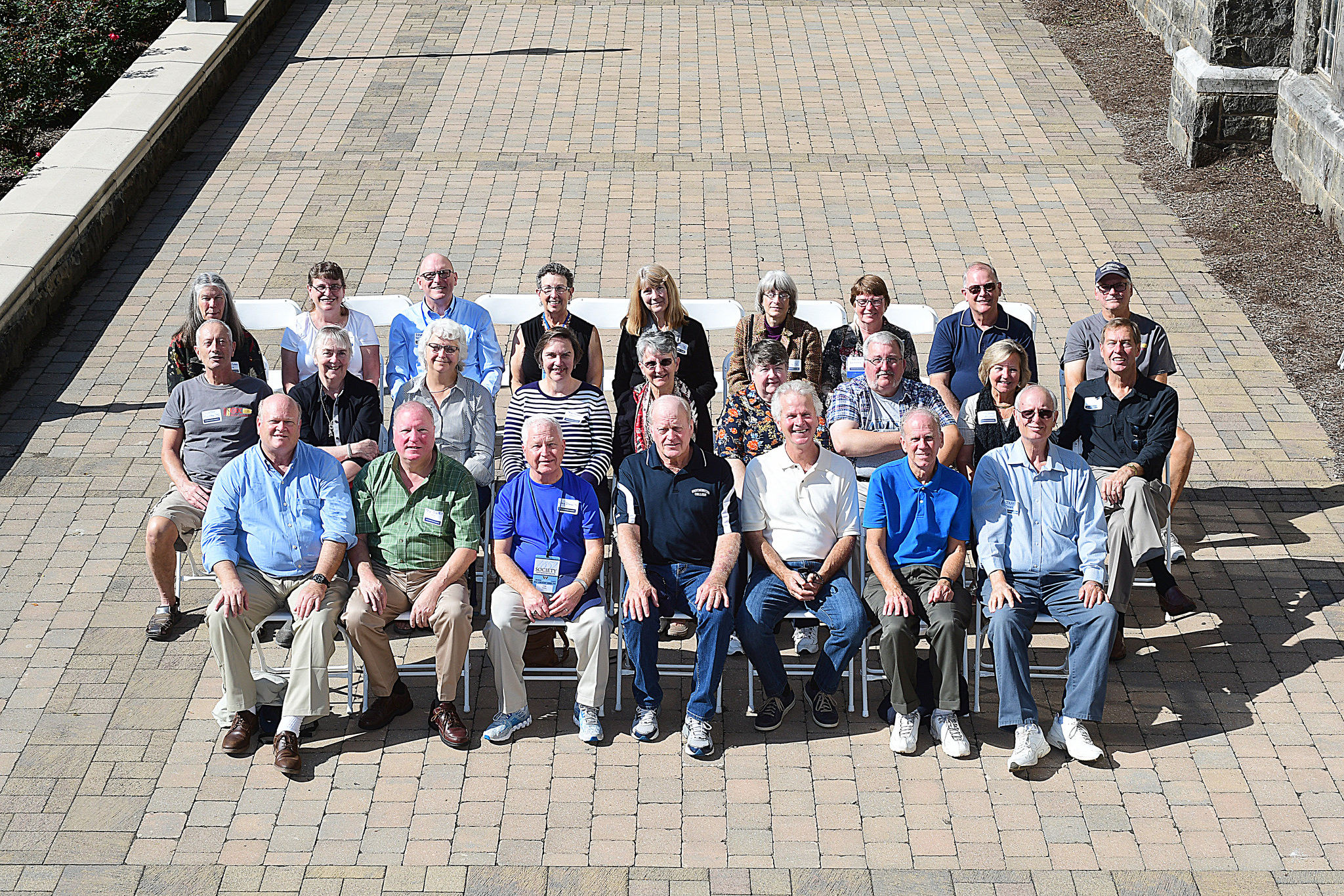 Reunion Photo for the Classes of 1971, 1972 and 1973
