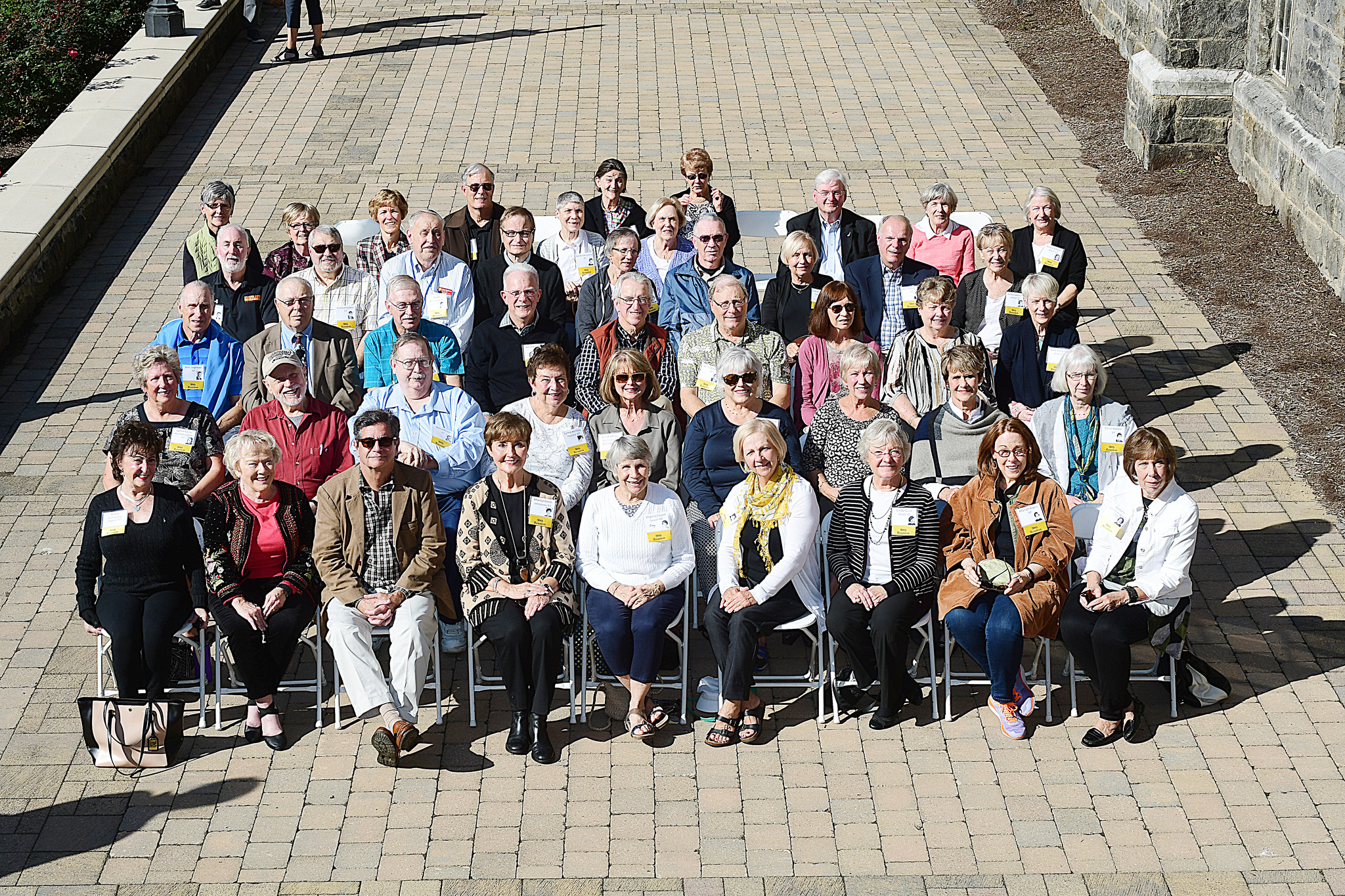 Reunion Photo for the Class of 1967