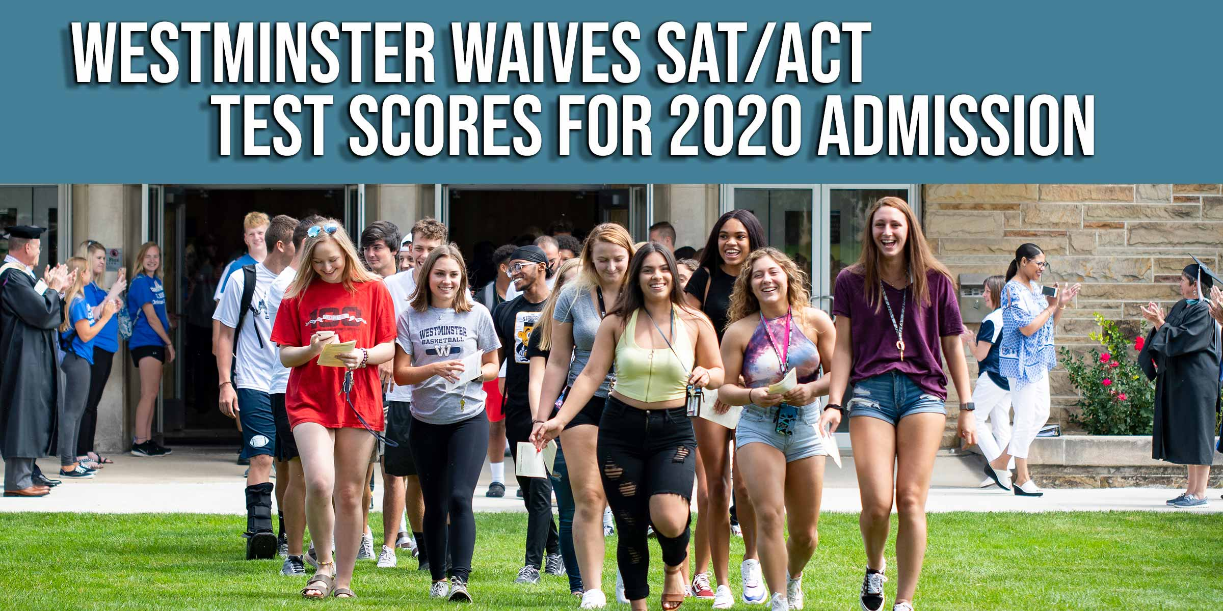 Westminster College to waive test scores for applicants for 2020 admission