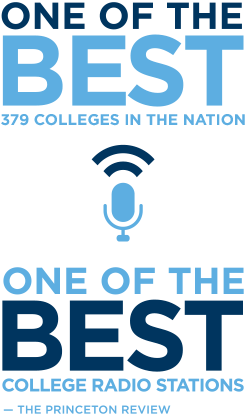 One of the Best 376 Colleges in the Nation and One of the Best College Radio Stations, According to the Princeton Review